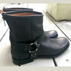 Men's Frye Phillip Harness Black Boot